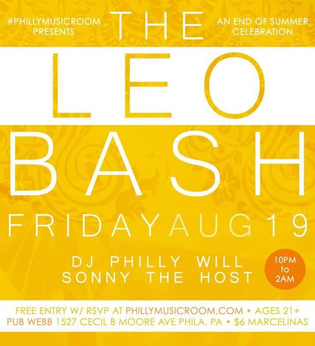 The Leo Bash